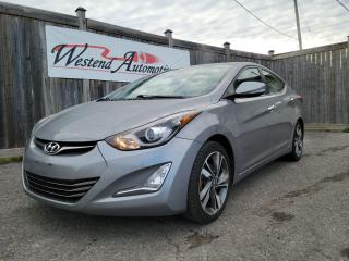 Used 2015 Hyundai Elantra Limited for sale in Stittsville, ON