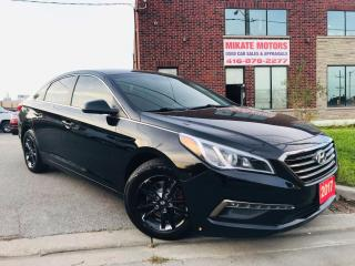 Used 2017 Hyundai Sonata GL~2.4L~B.Up Cam~HTD Seats~B.T.~Cert.~Warrantied for sale in Rexdale, ON