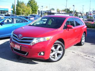 Used 2013 Toyota Venza Certified,Bluetooth,New Brakes,Clean Car Fax,AWD, for sale in Kitchener, ON