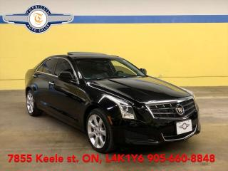 Used 2013 Cadillac ATS 2.0 AWD, Leather, Roof, 2 Years Warranty for sale in Vaughan, ON