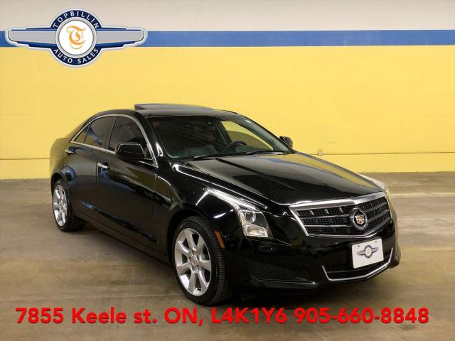 2013 Cadillac ATS 2.0 AWD, Leather, Roof, 2 Years Warranty