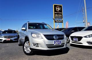 Used 2011 Volkswagen Tiguan Low Km's |Auto | Highline | 4Motion | Certified for sale in Brampton, ON