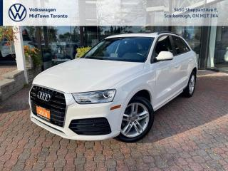 Used 2018 Audi Q3 2.0t Komfort for sale in Scarborough, ON