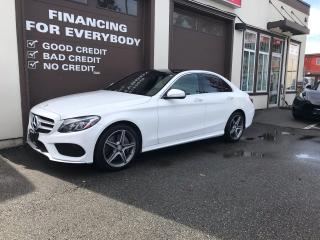 Used 2015 Mercedes-Benz C-Class C 300 AMG SPORT PKG for sale in Abbotsford, BC