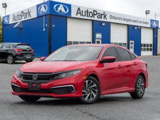 Used 2019 Honda Civic Sedan EX CVT BACKUP CAM|LANE WATCH|SUNROOF|HEATED SEATS for sale in Georgetown, ON