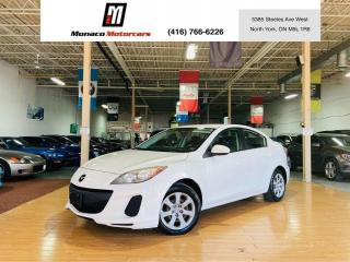 Used 2013 Mazda MAZDA3 GX - AUX |USB |POWER OPTIONS for sale in North York, ON