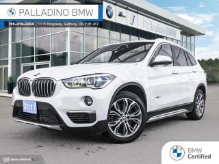 Used 2017 BMW X1 xDrive28i xDrive! - Comfort Access, Alpine White, Front Heated Seats for sale in Sudbury, ON