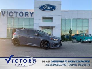 Used 2017 Ford Focus RS RS | AWD | 2 SETS OF WHEELS | NAV | SUNROOF for sale in Chatham, ON