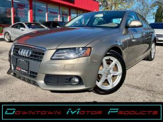 Used 2009 Audi A4 Quattro AWD for sale in London, ON