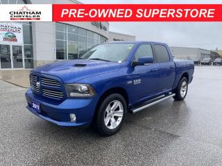 Used 2017 RAM 1500 Sport * One Owner / Full Leather / Sunroof for sale in Chatham, ON