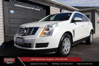 Used 2014 Cadillac SRX Luxury LUXURY PKG - NAVIGATION - BLIND SPOT WARNING for sale in Kingston, ON