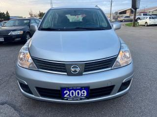 Used 2009 Nissan Versa CERTIFIED, AIR CONDITIONING AND HEAT, ALLOY WHEELS for sale in Woodbridge, ON