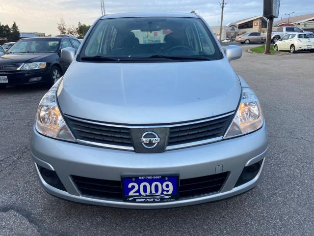 2009 Nissan Versa CERTIFIED, AIR CONDITIONING AND HEAT, ALLOY WHEELS