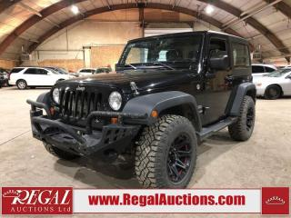 Used 2012 Jeep Wrangler SPORT for sale in Calgary, AB