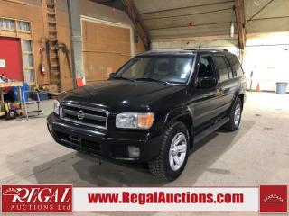 Used 2003 Nissan Pathfinder LE for sale in Calgary, AB