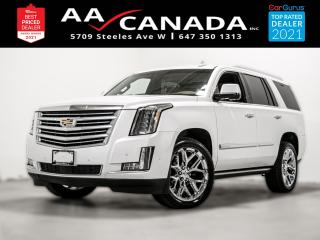 Used 2017 Cadillac Escalade Platinum for sale in North York, ON