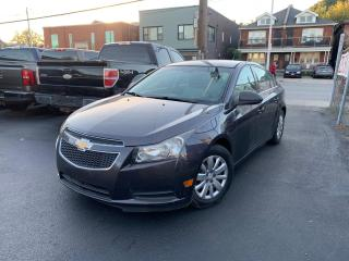 Used 2011 Chevrolet Cruze LS+ w/1SB LOW KM for sale in Hamilton, ON