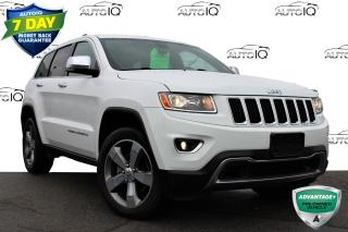 Used 2015 Jeep Grand Cherokee Limited 4X4 | SUNROOF | NAVIGATION | CERTIFIED for sale in Hamilton, ON