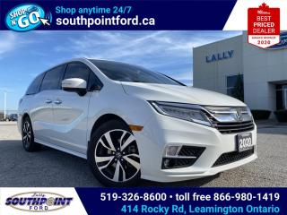 Used 2020 Honda Odyssey Touring TOURING|4X4|NAV|DVD|HTD SEATS|BLUETOOTH|ADAPTIVE CRUISE CONTROL|MEMORY SEATS|MOONROOF| for sale in Leamington, ON