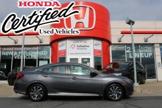 Used 2018 Honda Civic SE - HONDA CERTIFIED RATES STARTING @ 3.69% - for sale in Sudbury, ON