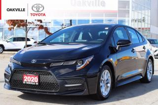 Used 2020 Toyota Corolla SE Toyota Certified with One Owner for sale in Oakville, ON