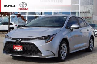 Used 2020 Toyota Corolla LE Toyota Certified with Clean Carfax for sale in Oakville, ON
