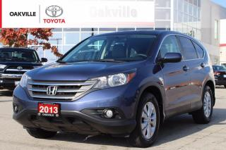 Used 2013 Honda CR-V EX FWD Certified Pre-Owned with Power Moonroof for sale in Oakville, ON