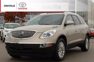 Used 2010 Buick Enclave CX FWD 7-Passenger with Clean Carfax and Rearview Camera | SELF CERTIFY for sale in Oakville, ON