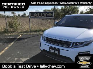 Used 2018 Land Rover Evoque HSE**SUNROOF**LEATHER**NAVIGATION**HEATED SEATS** for sale in Tilbury, ON