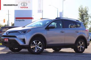 Used 2018 Toyota RAV4 LE, AWD, HEATED SEATS, SPORT/ECO MODES, ADAPTIVE CRUISE CONTROL, BLUETOOTH, BACK-UP CAMERA for sale in Orangeville, ON