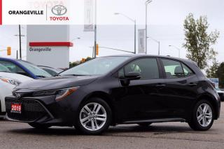 Used 2019 Toyota Corolla Hatchback SE, HEATED SEATS, APPLE CARPLAY, SPORT MODE, BLUETOOTH, ADAPTIVE CRUISE CONTROL, LANE KEEPING ASSIST for sale in Orangeville, ON