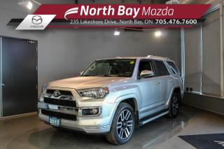 Used 2017 Toyota 4Runner SR5 Limited - 5 Passenger - Leather - Sunroof for sale in North Bay, ON
