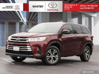 Used 2018 Toyota Highlander LE for sale in Whitby, ON