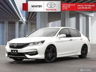 Used 2017 Honda Accord Sedan Sport for sale in Whitby, ON