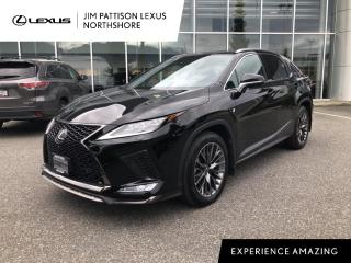 Used 2020 Lexus RX 350 8A / F Sport 3 Package / Low Mileage / One Owner / for sale in North Vancouver, BC