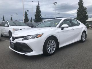 Used 2018 Toyota Camry LE, Certified, No Accidents for sale in North Vancouver, BC