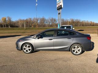 Used 2019 Chevrolet Cruze Premier for sale in Roblin, MB