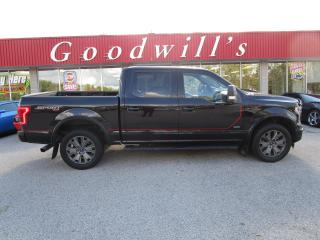 Used 2017 Ford F-150 LARIAT! AWD! for sale in Aylmer, ON