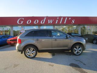 Used 2013 Ford Edge LIMITED! CLEAN CARFAX! HEATED LEATHER! NAVI! for sale in Aylmer, ON