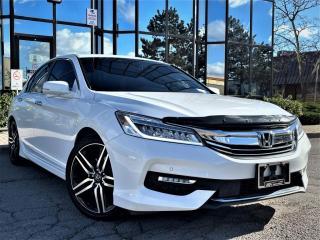 Used 2017 Honda Accord Sedan TOURING|WIRELESS CHARGING|HEATED SEATS|SUNROOF|REAR VIEW| for sale in Brampton, ON