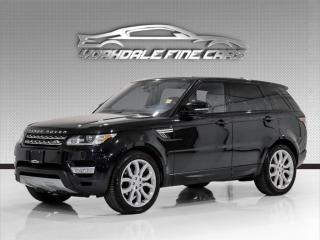 Used 2016 Land Rover Range Rover Sport HSE Td6 DIESEL. Driver Assist, Panoramic, Navi, Loaded! for sale in Concord, ON