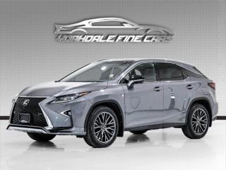 Used 2017 Lexus RX 350 AWD. F SPORT 3. Driver Assist, Heads Up Display, Loaded! for sale in Concord, ON