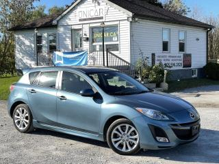 Used 2011 Mazda MAZDA3 No-Accidents 2.5 GT Leather Sunroof Bluetooth 6-Speed for sale in Sutton, ON