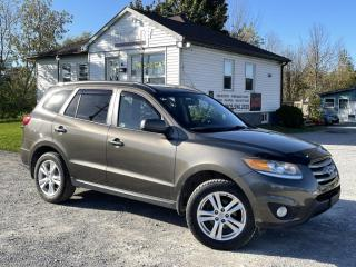 Used 2012 Hyundai Santa Fe AWD Limited V6 Leather Sunroof Bluetooth Infinity Sound for sale in Sutton, ON