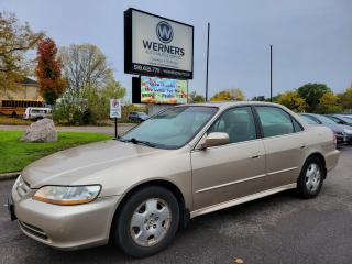 Used 2002 Honda Accord EX V6 sedan for sale in Cambridge, ON