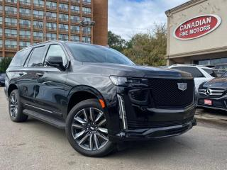 Used 2021 Cadillac Escalade CLEAN CARFAX | SPORTS PKG| NAVI | CAM |PANO | HUD | DVD for sale in Scarborough, ON
