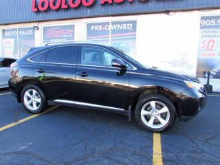Used 2010 Lexus RX 350 AWD 3.5L V6 Camera Bluetooth Leather Certified for sale in Milton, ON