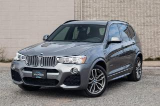Used 2016 BMW X3 xDrive28d M SPORT, DIESEL for sale in St. Catharines, ON