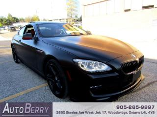 Used 2012 BMW 6 Series 650i Coupe Accident Free, Clean Carfax! for sale in Woodbridge, ON