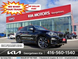 Used 2019 BMW X4 M40i | CLN CRFX | PANO ROOF | NAV | 37K | BU CAM | for sale in Georgetown, ON
